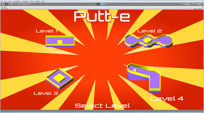 Putt-e screenshot